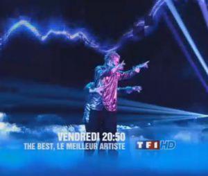 The Best, le meilleur artiste : des performances à couper le souffle.