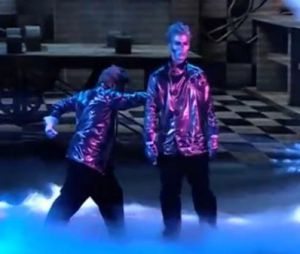 The Best, le meilleur artiste : le duo Robot Boys veut aller en finale.