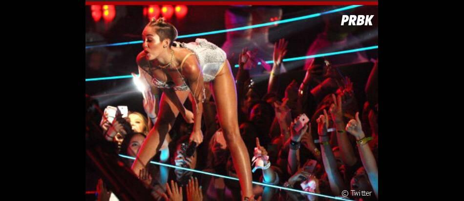 Robin Thickeet Miley Cyrus : prestation vulgaire aux MTV VMA 2013