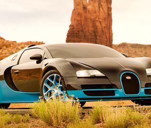 La Bugatti Veyron Grand Sport Vitesse va en faire rêver beaucoup dans Transformers 4