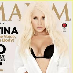 Christina Aguilera : 100% sexy en soutif pour Maxim