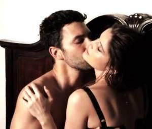 Laetitia Casta dans les coulisses du shooting pour la nouvelle campagne parfum Dolce & Gabbana
