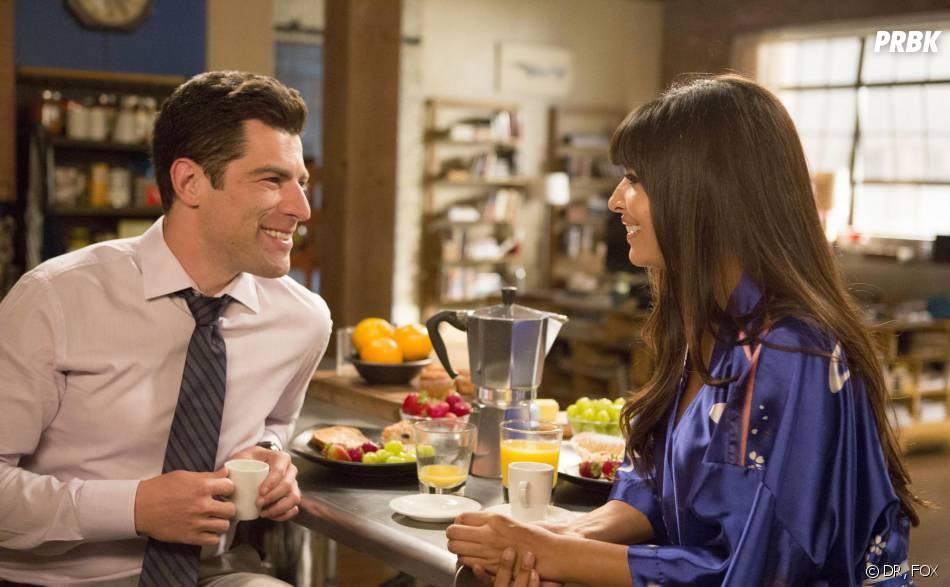 New Girl saison 3, épisode 2 : Max Greenfield et Hannah Simone