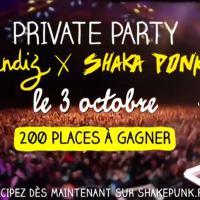Shaka Ponk x Undiz : 200 places à gagner pour une private party