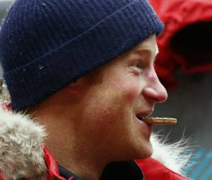 Prince Harry : une nuit à -35 degrés pour se préparer aux conditions climatiques du défi Pôle Sud en Antarctique, le 17 septembre 2013 au MIRA à Nuneaton