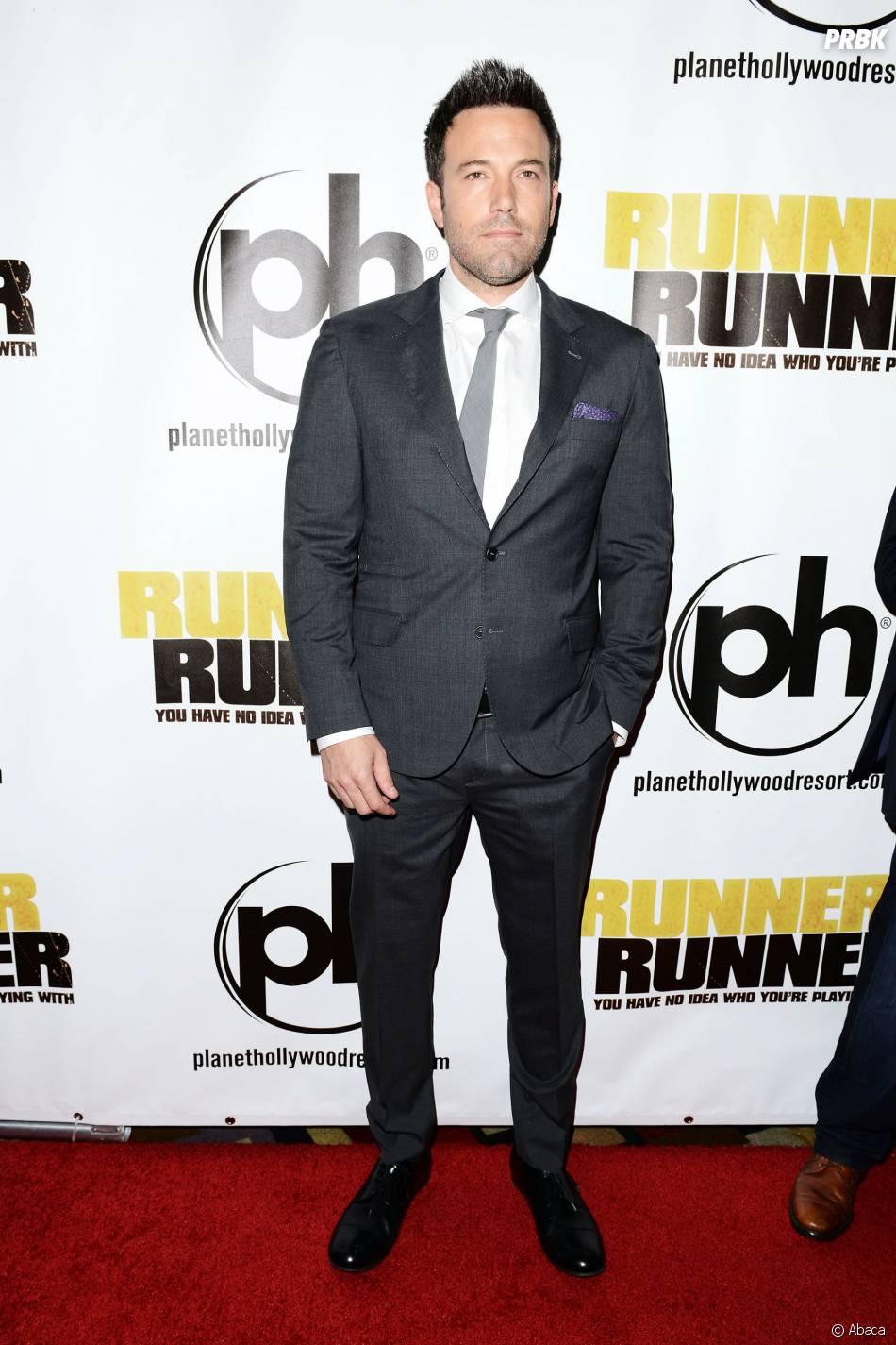 Ben Affleck à l'avant-première de Players à Las Vegas le 18 septembre 2013