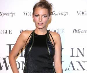 Blake Lively, Cate Blanchett et David Gandy à la Fashion Week de Milan, en septembre 2013