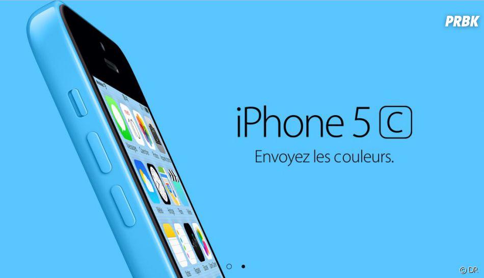 iPhone 5C sort le 20 septembre à partir de 599€