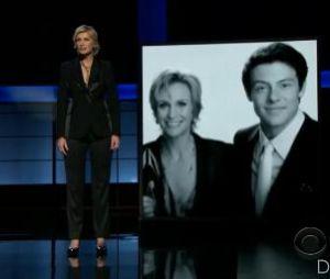 Cory Monteith : hommage émouvant de Jane Lynch aux Emmy Awards 2013