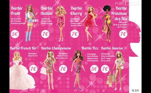 Le Barbie Bar servira des cocktails 100 % barbie du 19 au 28 octobre, 17 rue de Sèvres à Paris