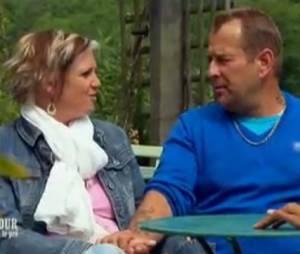 L'amour est dans le pré 2013 : Gilles et Katia amoureux lors du bilan.