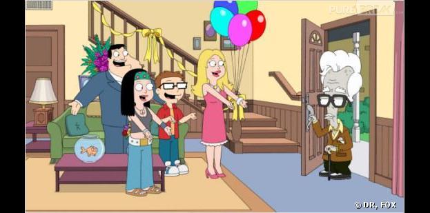 American Dad : la saison 9 débarque sur NRJ12 le dimanche 13 octobre à partir de 10h45