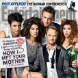 How I Met Your Mother saison 9 : les acteurs en couverture de EW