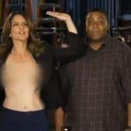 Tina Fey : après son téton aux Emmy, ses seins pour le SNL