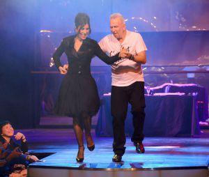 Défilé Jean-Paul Gaultier façon Danse avec les stars, printemps-été 2014, le 28 septembre 2013 à Paris