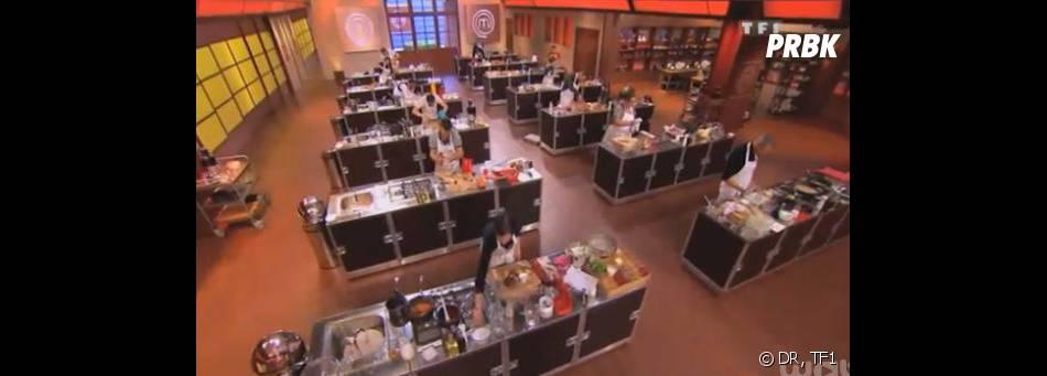 Masterchef 2013 : deuxième épreuve dans les cuisines de l'émission.