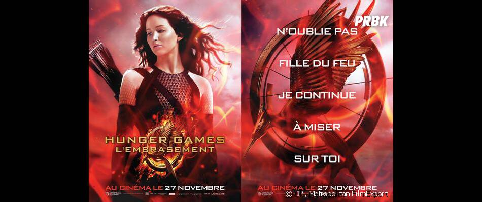 Hunger Games 2 : Jennifer Lawrence sur une affiche