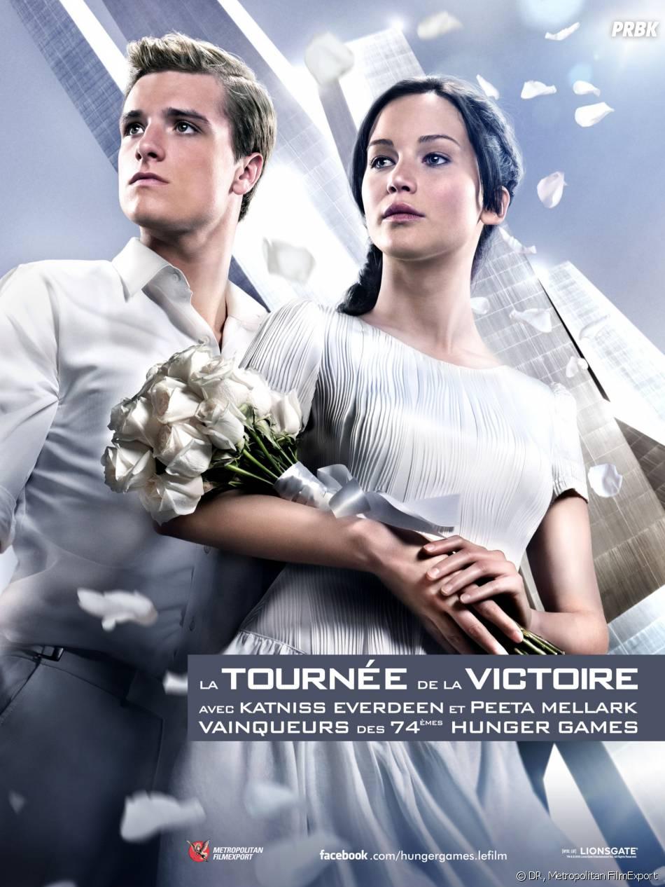 Hunger Games 2 : le poster de la tournée de la Victoire