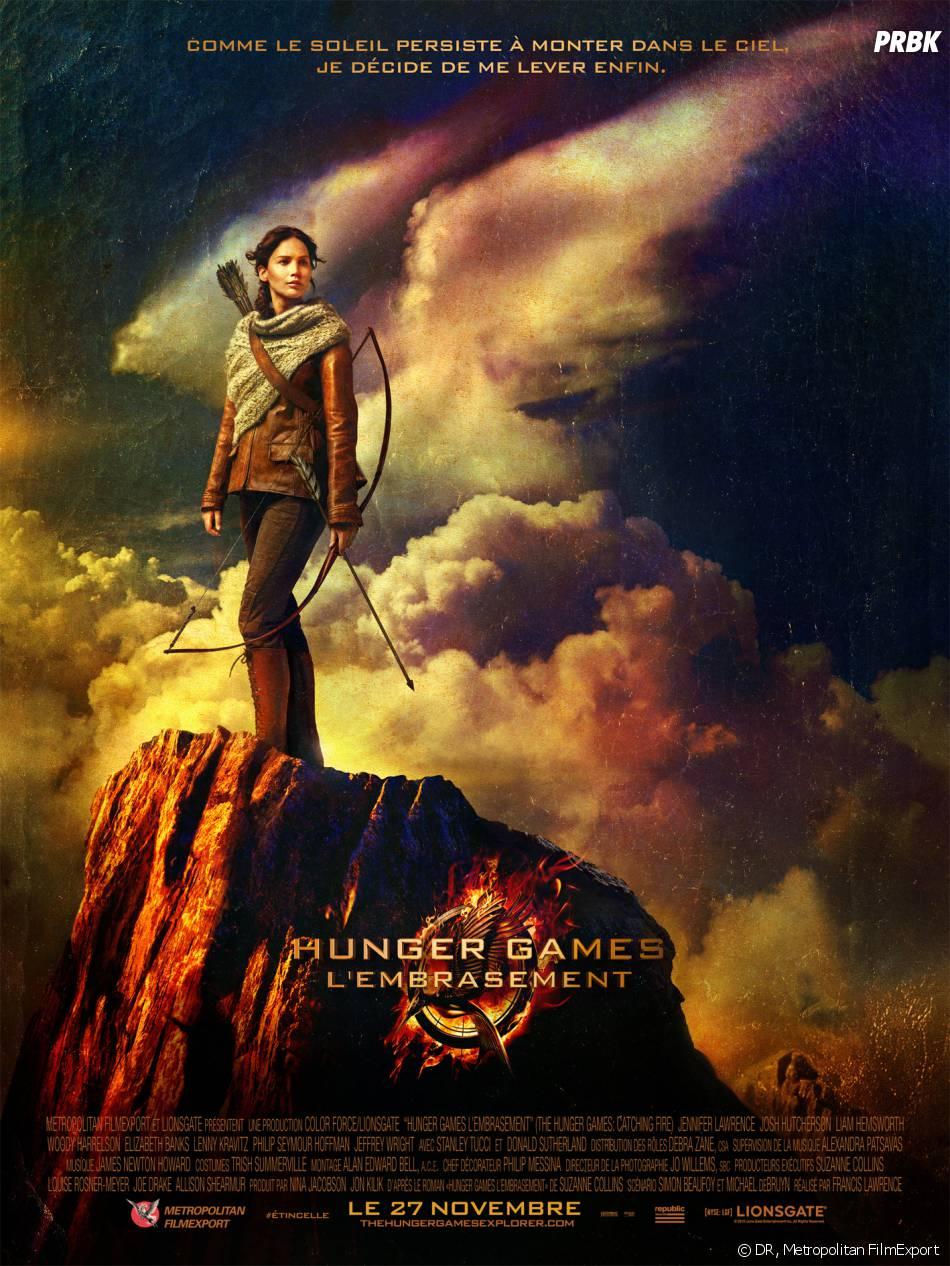 Hunger Games 2 : poster avec Jennifer Lawrence