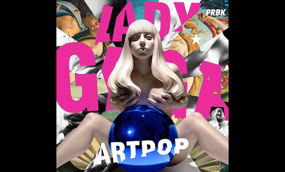 Lady Gaga : la pochette topless d'ARTPOP