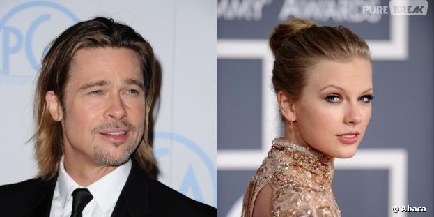 Taylor Swift et Brad Pitt : les couples de stars improbables
