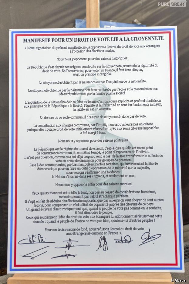 """Frédéric Beigbeder, Eric Zemmour et Nicolas Bedos ont signé le manifeste """"Touche pas à ma pute"""" : nos idées de pétitions improbables"""
