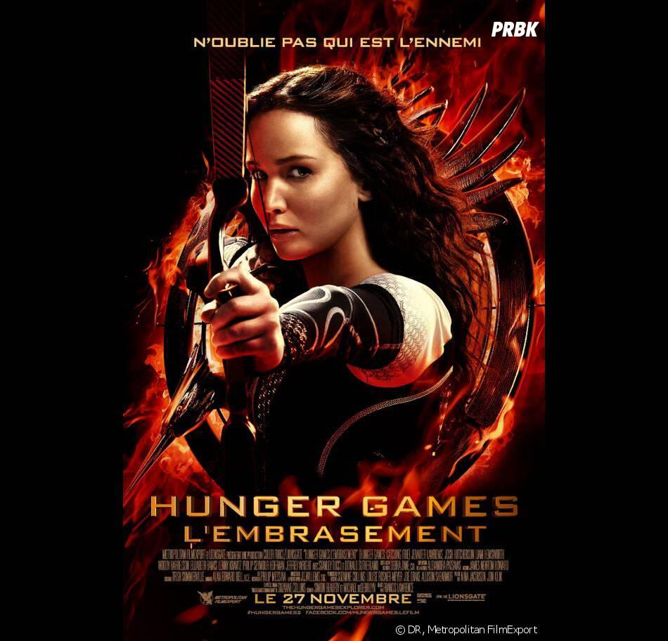 Hunger Games 2 : poster final avec Jennifer Lawrence