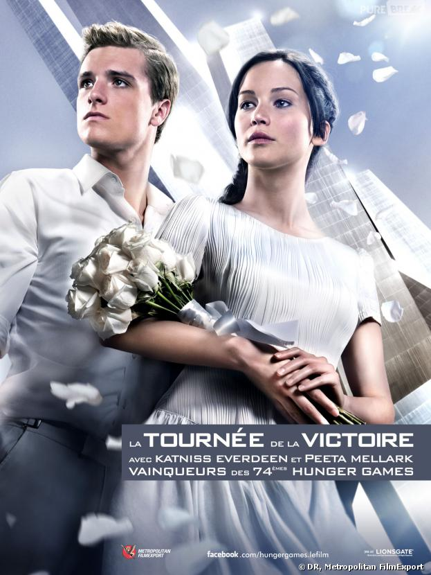 Hunger Games 2 : Peeta et Katniss comme des mariés