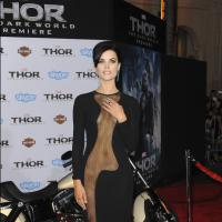 Jaimie Alexander : la future Wonder Woman à moitié nue sur le tapis rouge