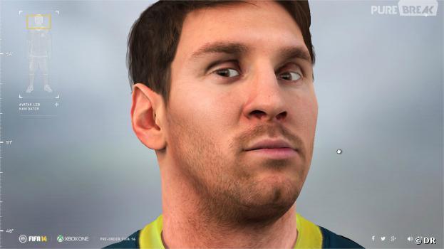 FIFA 14 : un Lionel Messi grandeur nature pour la sortie du jeu sur Xbox One et PS4