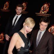 Jennifer Lawrence à Paris : ses seins débordent sur le tapis rouge d'Hunger Games 2