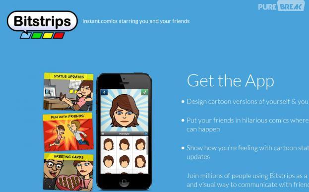 Bitstrips : la nouvelle appli phénomène