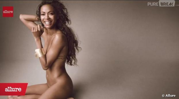 Zoe Saldana : Elle pose nue pour Allure magazine Photos