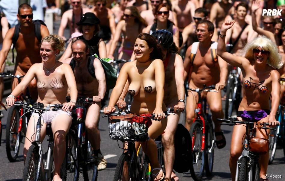 La journée mondiale du vélo nu : tous à poil sur vos deux roues !