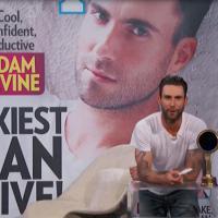 Adam Levine : homme le plus sexy de l'année... et le plus drôle