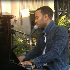 John Legend : concert sauvage pour un documentaire