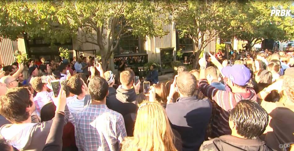 John Legend : concert improvisé dans une rue de Los Angeles