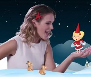 Lorie : le clip kitsch du titre Noël-Noël