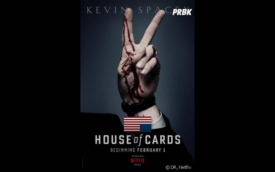 House of Cards : une saison 2 dévoilée le 14 février 2014