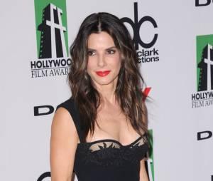 Sandra Bullock à Los Angeles en octobre 2013, arrive en troisième position du plus beau corps parmi les stars