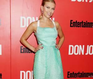 Scarlett Johansson à New York en septembre 2013, en cinquième position pour le plus beau corps parmi les stars selon le magazine FITNESS