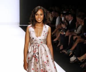 Kerry Washington à New York en septembre dernier, en quatrième position pour le plus beau corps parmi les stars selon le magazine FITNESS