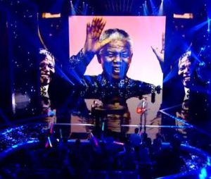 NMA 2014 : hommage à Nelson Mandela