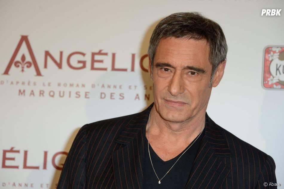 Gérard Lanvin à l'avant-première d'Angélique, le 16 décembre 2013 à Paris