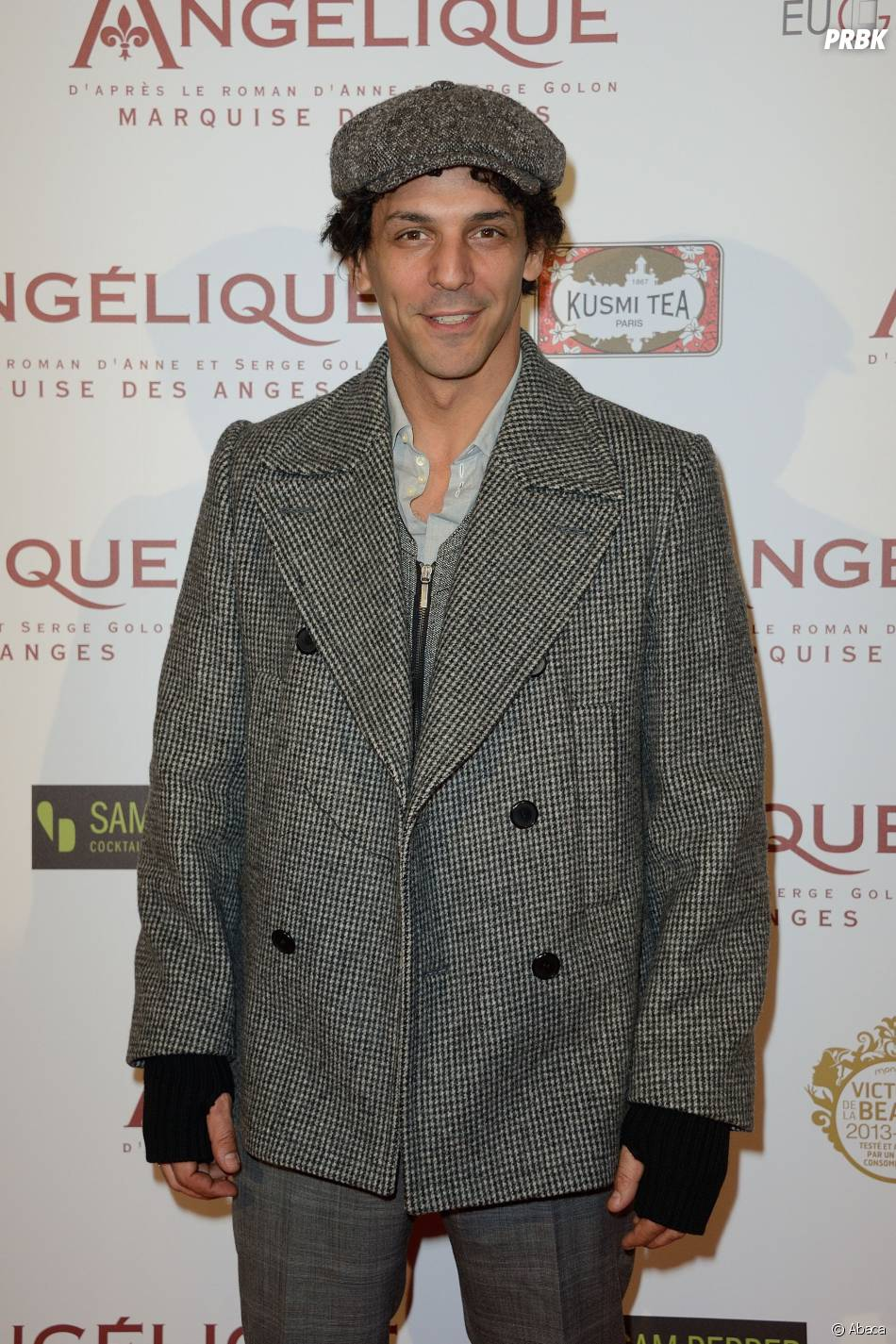 Tomer Sisley à l'avant-première d'Angélique, le 16 décembre 2013 à Paris