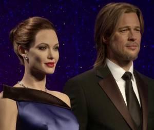 Nouvelles statues de Brad Pitt et Angelina Jolie chez Madame Tussauds à Londres