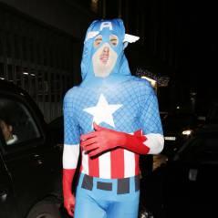 Olivier Giroud : Captain America ultra moulé pour la soirée déguisée d'Arsenal