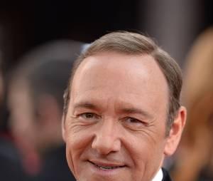 Golden Globes 2014 : Kevin Spacey sur le tapis-rouge le 12 janvier 2014 à Los Angeles
