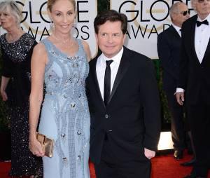 Golden Globes 2014 : Michael J. Fox sur le tapis-rouge le 12 janvier 2014 à Los Angeles