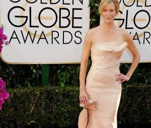 Golden Globes 2014 : Anna Gunn sur le tapis-rouge le 12 janvier 2014 à Los Angeles
